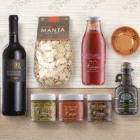 cesti natalizi salati - La Terra Di Puglia