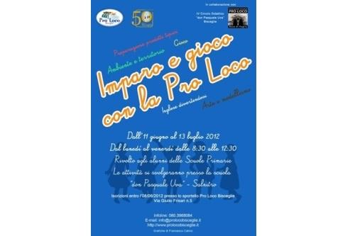 Imparo e gioco con la Pro Loco a Bisceglie e Ruvo di Puglia