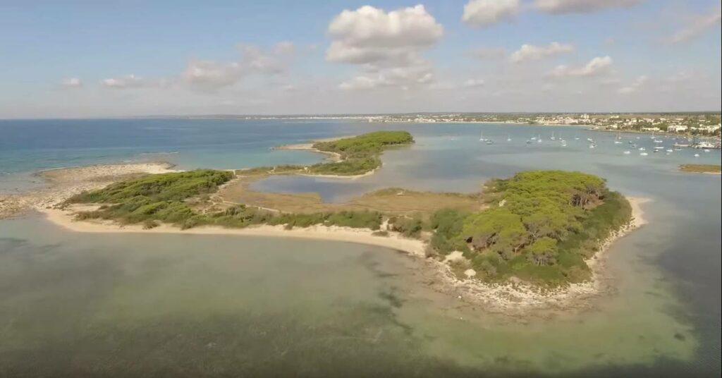 isola dei conigli porto cesareo - La Terra Di Puglia