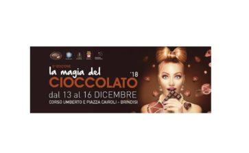 Brindisi ospita l'evento La magia del cioccolato