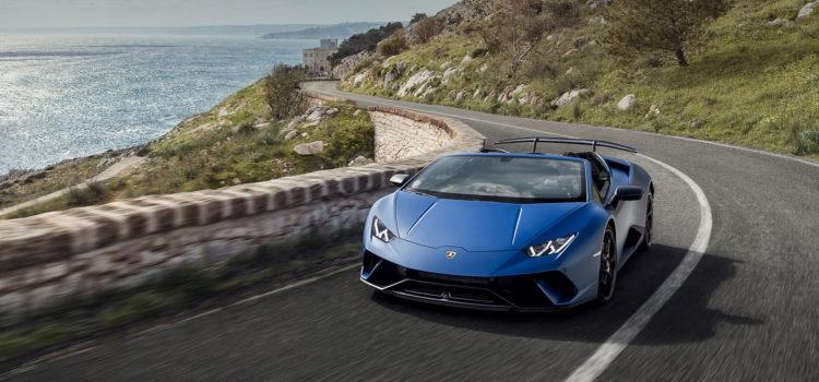 Lamborghini sceglie il Salento per lo spot dell'Huracàn