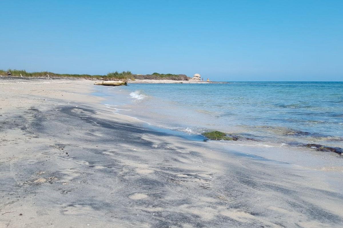 le-cesine-spiaggia-sabbia-nera