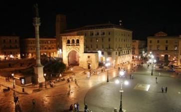 Lecce: arriva la tela più lunga del mondo