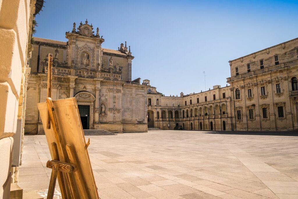 Lecce piazza Duomo - La Terra di Puglia