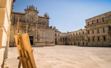 Lecce, tutto pronto per la sfilata di Dior