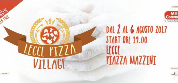 In Piazza Mazzini arriva Lecce Pizza Village 2017