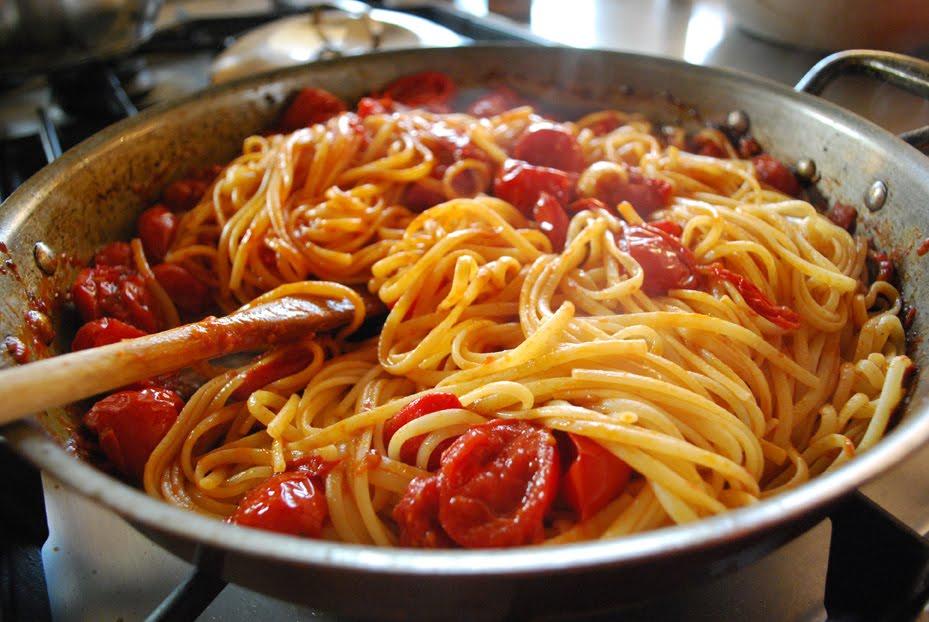 linguine-con-salsa