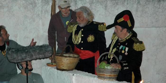 """Lino Banfi in Puglia con """"Le frise ignoranti"""""""