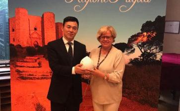 Italia Top Destination, la Puglia a Pechino per attirare turisti cinesi, firmato il protocollo di intesa con CITS