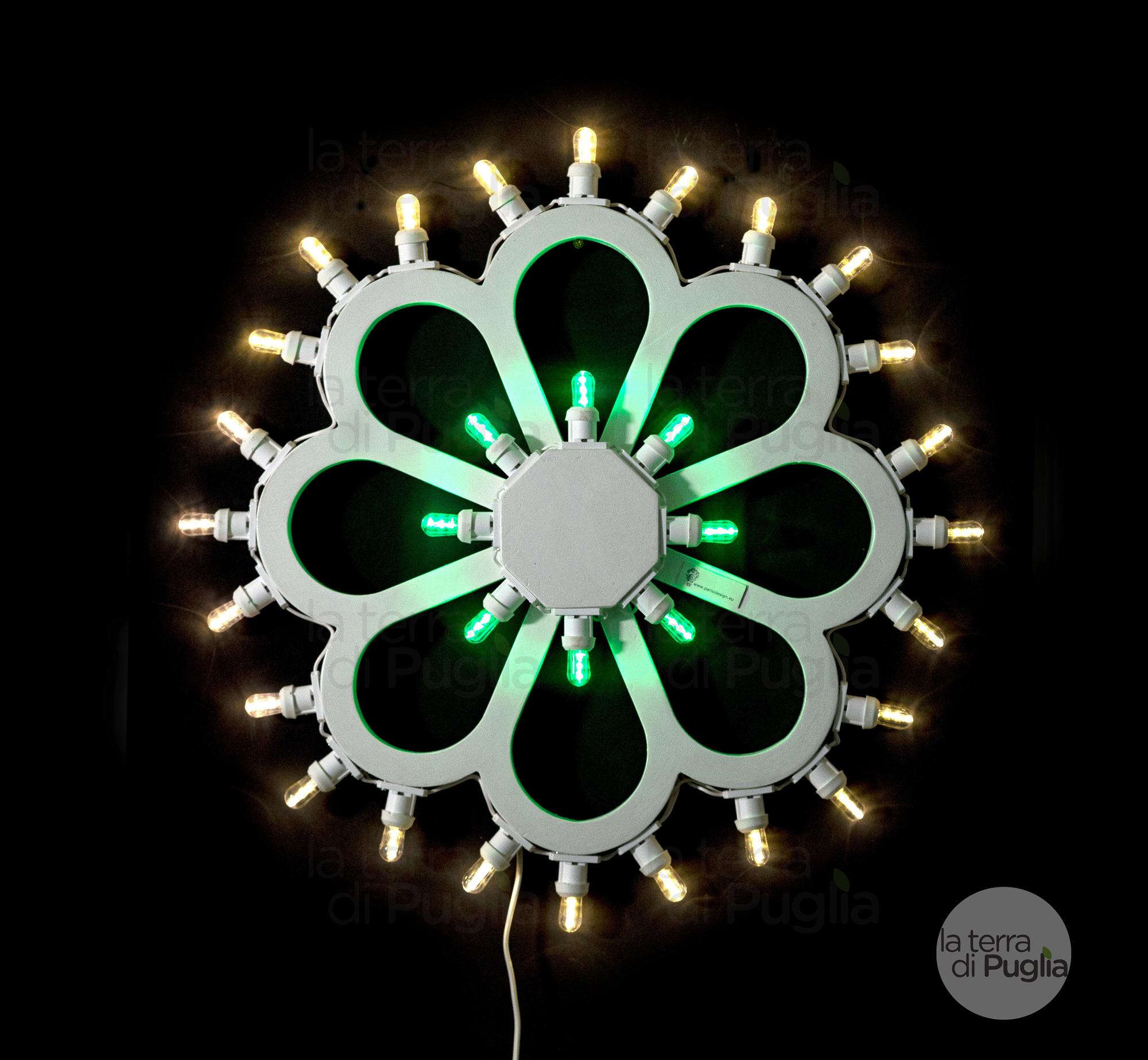 luminaria-fiore-completo-nero