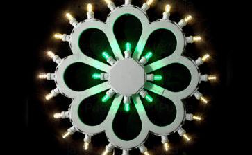Le luminarie del Salento come complemento d'arredo