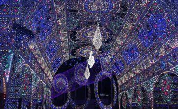Le luminarie di Scorrano a Bologna per il Natale 2019