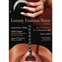 Luxury fashion show