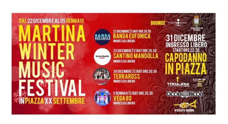 A Martina Franca l'evento Martina Winter Music Festival
