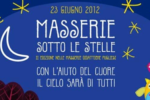 Torna l'appuntamento con Masserie sotto le stelle 2012