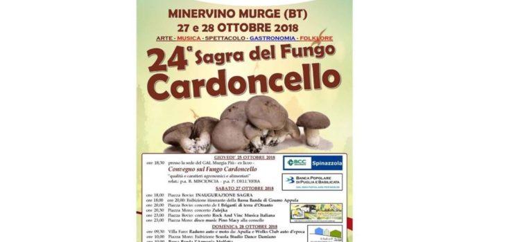 A Minervino Murge la seconda tappa della Sagra del fungo cardoncello
