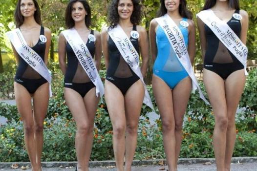Miss Puglia troppo magra, ed è subito polemica