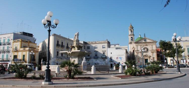 Il Giro d'Italia tra Mola e Margherita di Savoia