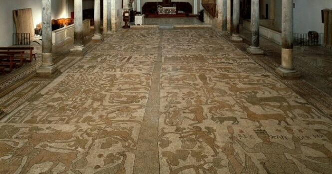 Il Mosaico di Otranto, nel Salento tra caratteristiche e curiosità