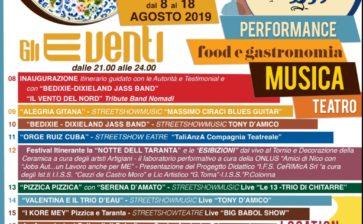 Mostra della Ceramica a Cutrofiano (LE), eventi agosto nel Salento