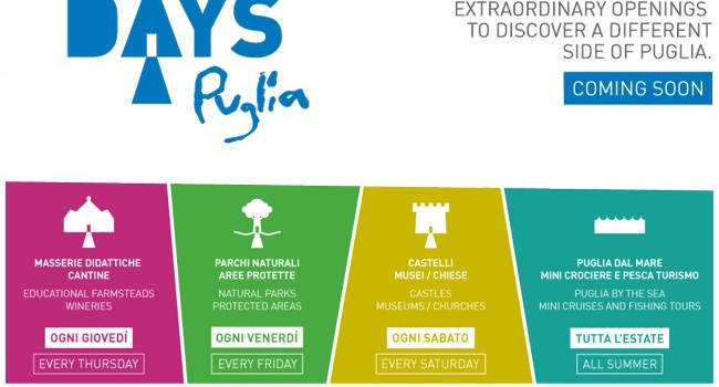 I Puglia Open Days 2013