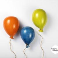 palloncini in ceramica pugliese - La Terra Di Puglia