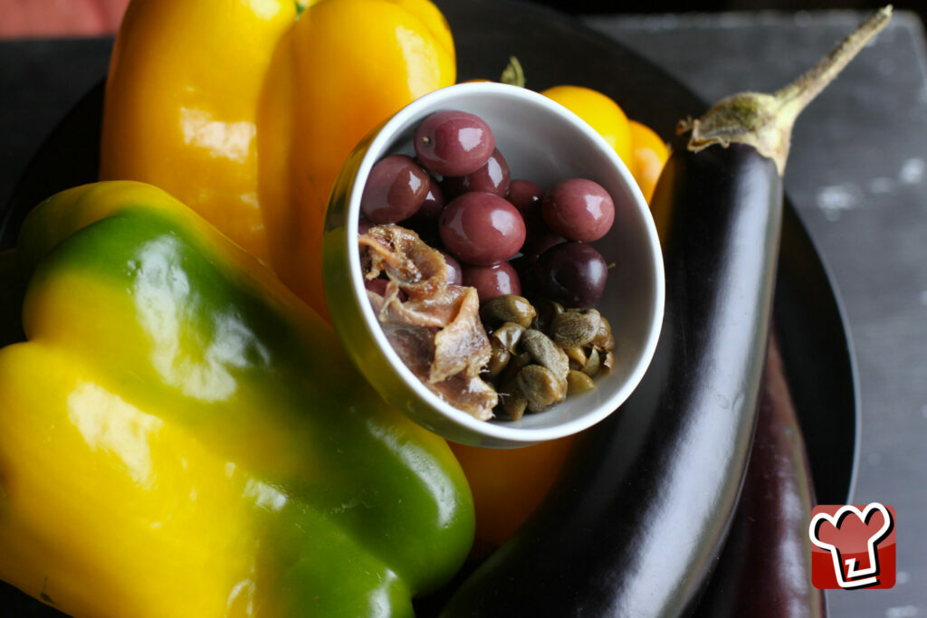 Ingredienti peperoni ripieni