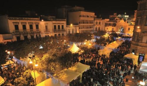 Martina Franca tra orecchiette e Babbo Natale