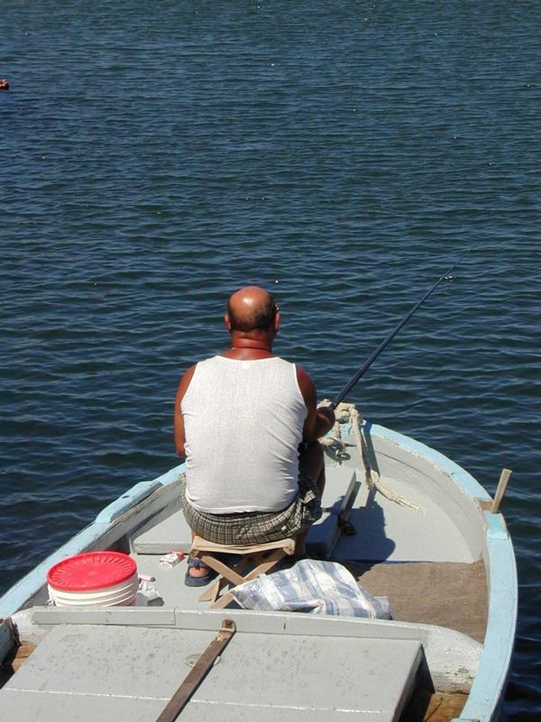 Pescatore a Bari