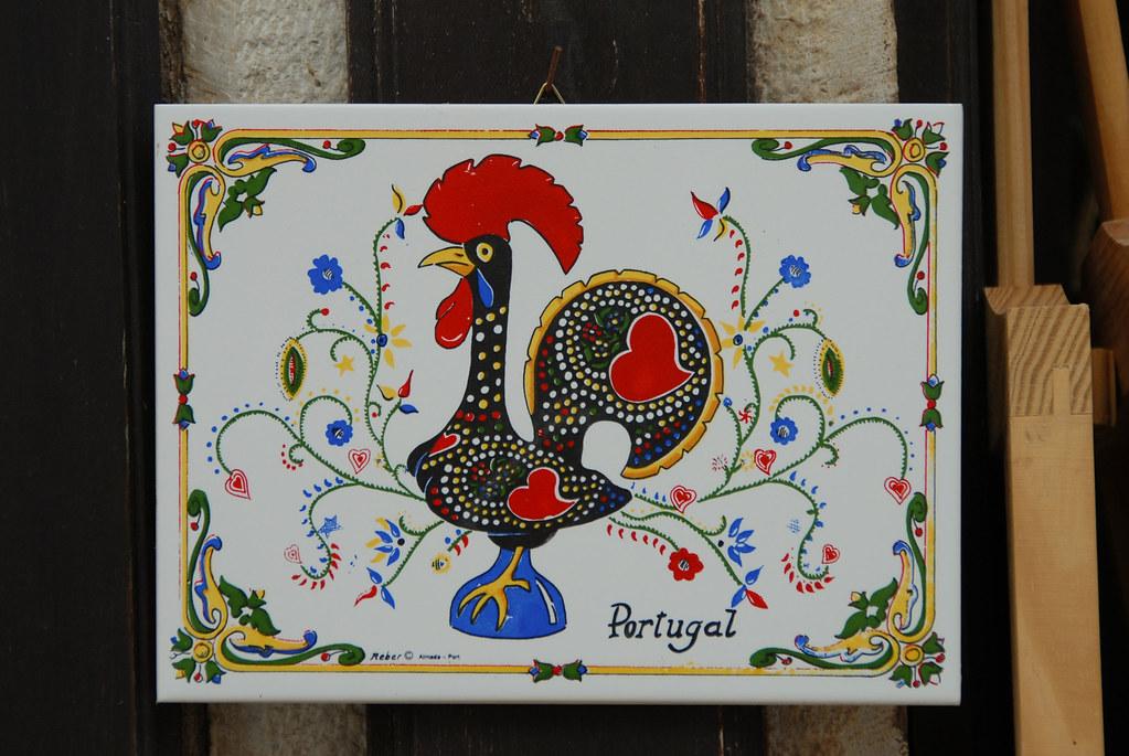 piatti decorati con gallo - Laterradipuglia.it