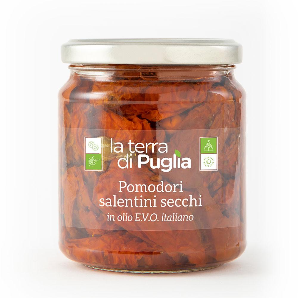 pomodori salentini secchi in EVO