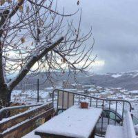 prima neve in Puglia dicembre 2018