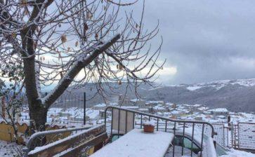 Arriva la prima neve in Puglia