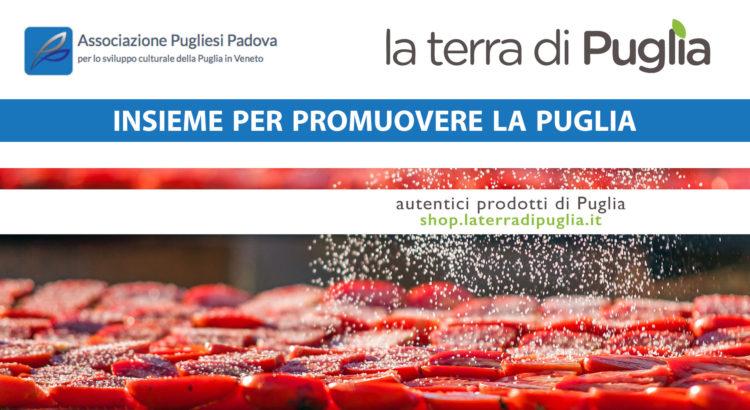 Associazione Pugliesi Padova, lo shop che unisce l'Italia