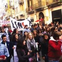 protesta studenti pugliesi