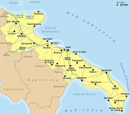 Cartina Puglia Alberobello.100 Milioni Per Le Strade Di Puglia Laterradipuglia It