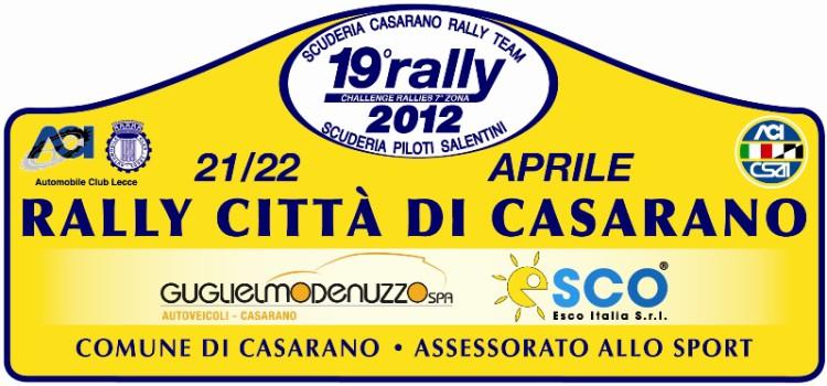 Il Rally Città di Casarano 2013