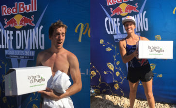 LaTerradiPuglia al Red Bull Cliff Diving di Polignano a Mare