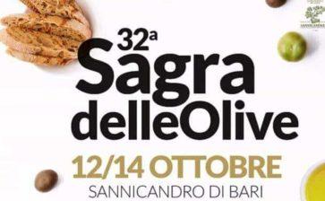 Sannicandro ospita la trentaduesima edizione della Sagra delle Olive