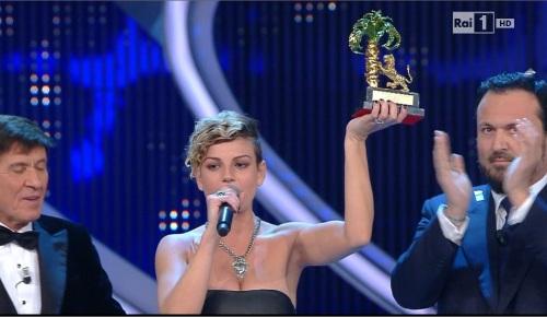 Sanremo 2012 big: vince veramente Emma Marrone!