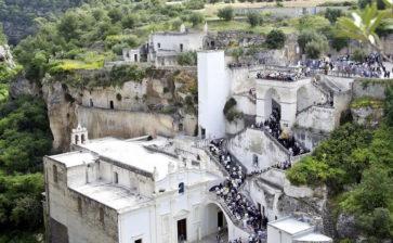 Di nuovo aperto il santuario Madonna della Scala a Massafra