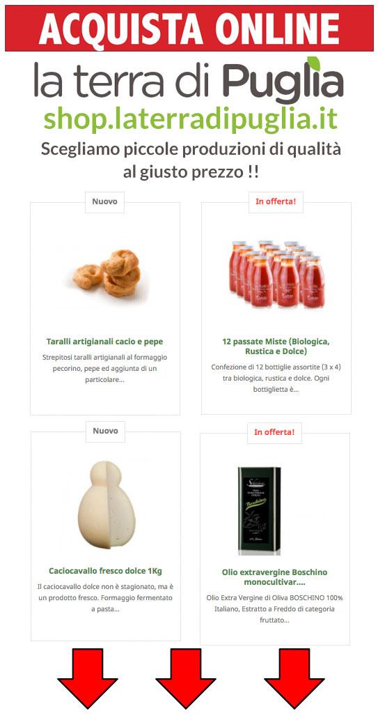 prodotti tipici pugliesi