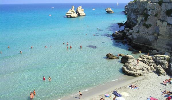 Le cinque vele blu di Melendugno, Nardò e Otranto