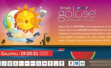 Strade Golose 2012: l'enogastronomia made in Salento