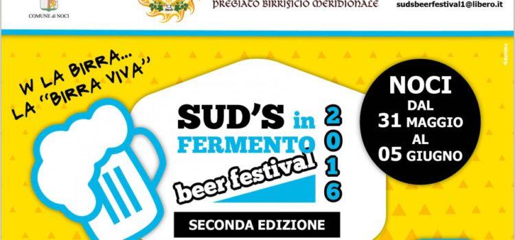 La seconda edizione di Sud's in Fermento Beer Festival a Noci