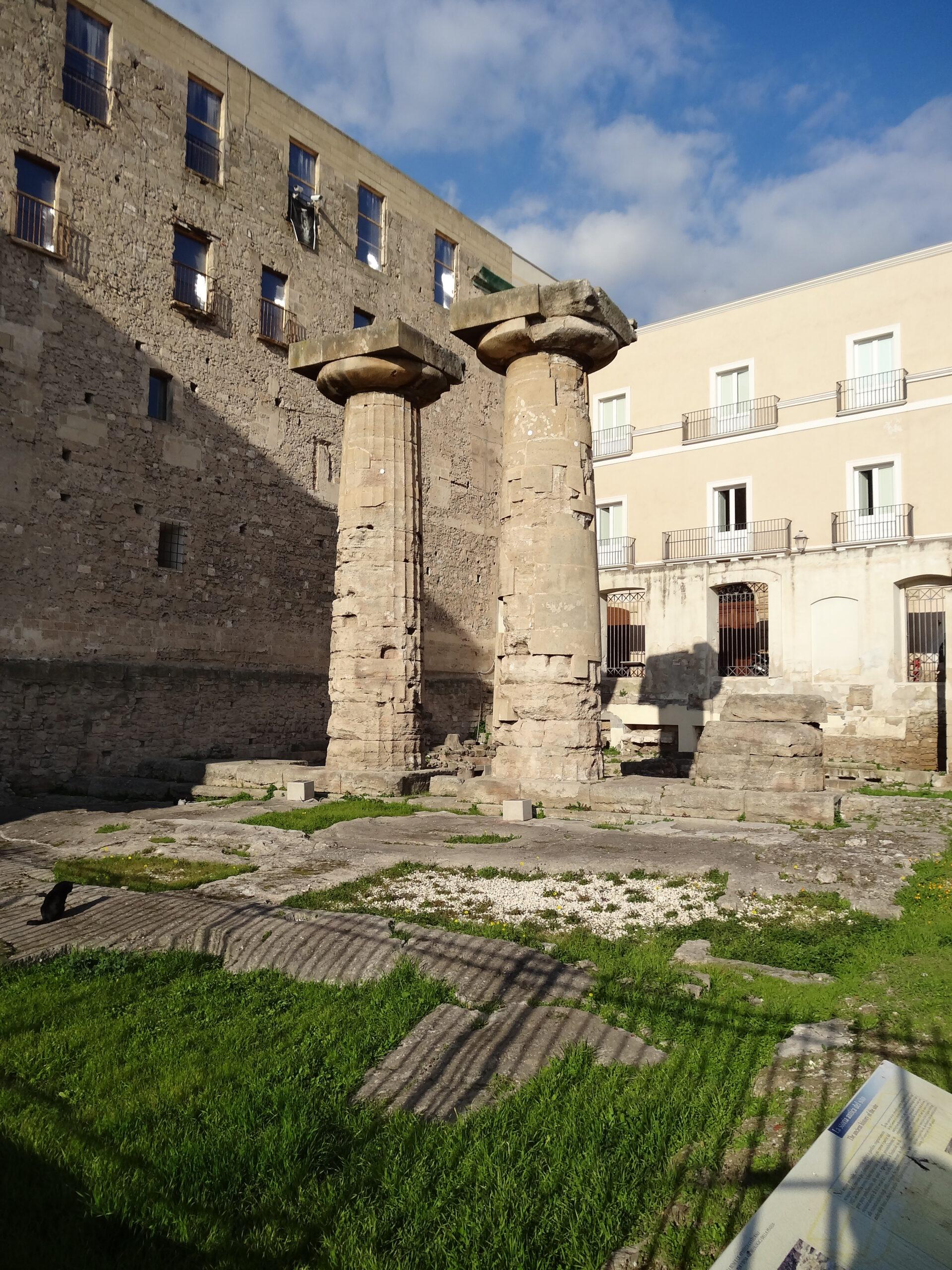 tempio di poseidone di taranto - Laterradipuglia.it