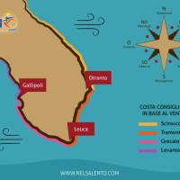 dove fare il bagno in base al vento - La Terra Di Puglia