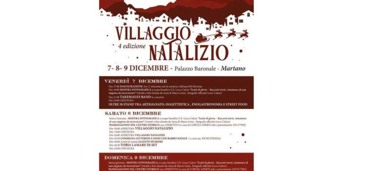 A Martano la quarta edizione del Villaggio Natalizio