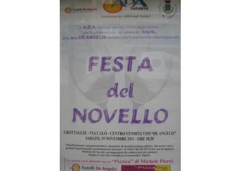 La festa del vino novello 2011 a Grottaglie