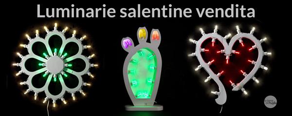 Luminarie in vendita online dal Salento
